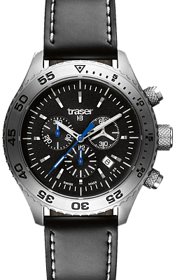 Traser T5 Aurora Chronographs featuring HairLight Tritium, 106832, 106833