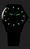 Traser P67 Lime Officer Pro GunMetal Watch 107424