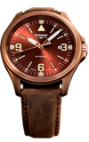 Traser P67 Officer Pro Automatic, Bronze Case with Brown Metallic Dial #108073