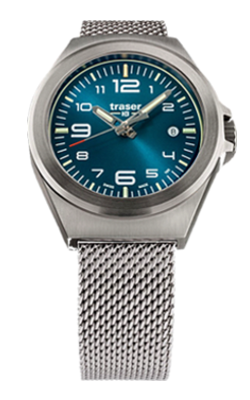 Traser's New, Smaller P59 Essential S Tritium Watches, 108203, 108208, 108210