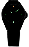 Traser New, Smaller P59 Essential S Tritium Watch, model 108203 with Milanese Mesh Bracelet