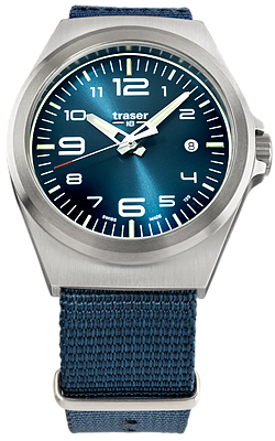 Traser P59 Essential M Blue Tritium Watch Collection