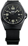 Traser P59 Essential M Black Tritium Watch Collection, models 108206,108218