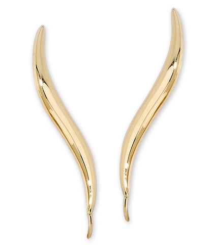 Jose Jay's Original Classic EarPin Ear Climber Earring, Now in 14k Yellow, White or Rose Gold