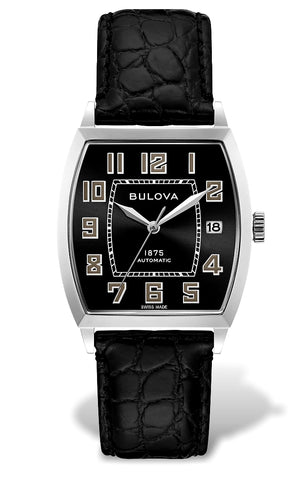 Joseph Bulova Limited Edition Banker Swiss Automatic Watch 96B329