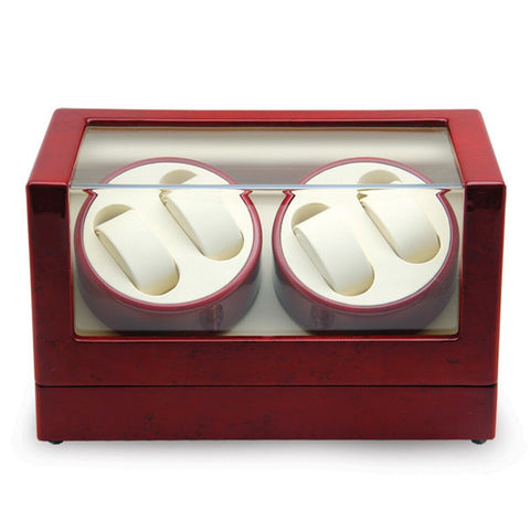 Rotations 4 Watch Winder Jewelry Case