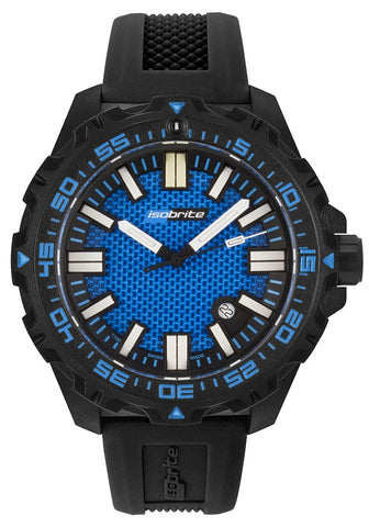 IsoBright Afterburner Blue Limited Edition Tritium Watch, ISO 4001