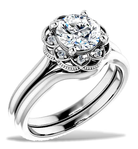 Gorgeous 1ct Solitaire Bridal Set, 4 Mind Blowing Versions from $299 to $7,999