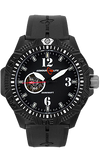 Armourlite Caliber Series Automatic Watch, Black Dial with Rubber Dive Strap, AL1213