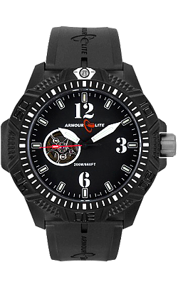 Armourlite Caliber Series Automatic Watch Collection, Black Dial