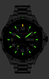 Armourlite Professional Series All Steel Tritium Watch with Shatterproof Crystal AL1401