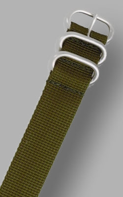 MilSpec Ballistic Nylon Band in Army Olive Green