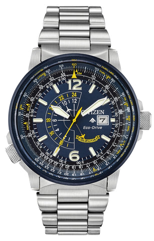 Promaster Nighthawk Pilot's Watch, Blue Angels Edition, BJ7006-56L