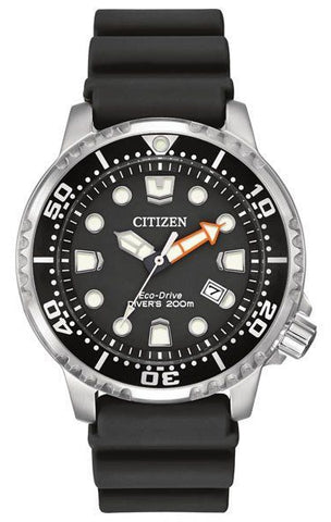 Citizen Promaster ISO Certified Black Dial Eco-Drive Watch, BN0150-28E