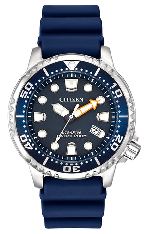 Citizen Promaster Diver, BN0151-09L, ISO Certified, Eco-Drive Powered
