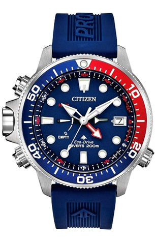 Citizen Promaster Aqualand Eco-Drive Dive Watch with Depth Gauge, BN2038-01L