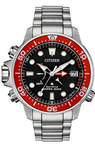 Citizen Promaster Aqualand Eco-Drive Dive Watch with Depth Gauge, BN2039-59E