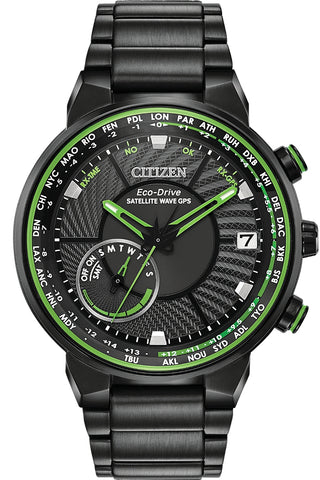 Citizen Satellite Wave GPS Freedom World Time Watch, CC3035-50E