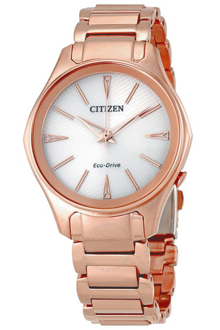 Citizen Modena Women's Rose Goldtone Eco-Drive Watch, EM0593-56A