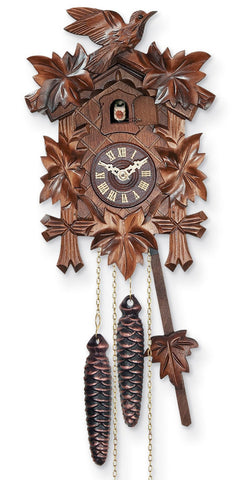 The Bavarian Cuckoo Clock Perfected, Super Accurate Quartz Movement with 12 Melodies