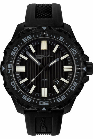 IsoBright Afterburner Limited Edition T100 Military Tritium Watch, Black Dial ISO3003