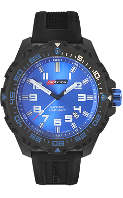 IsoBrite Valor T-100 Tritium Watch, Blue Dial and Tritium, Model ISO301