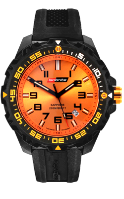 IsoBright Valor T100 Tritium Watch, Orange Tritium, ISO302, ISO312