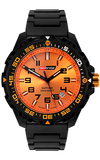 IsoBright Valor T100 Tritium Watch, Orange Tritium, Link Bracelet, ISO312