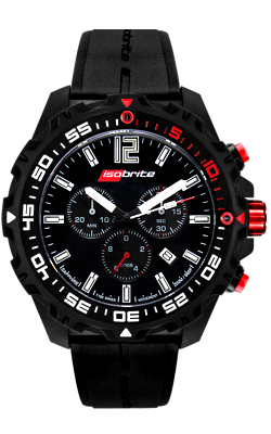 IsoBrite Ultra Bright T100 Chronograph, Model ISO401