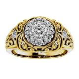 The Kentucky Diamond Cluster Ring for Women, 1 carat of Diamonds, total weight
