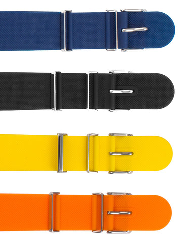 Amazing! NATO Style, Ultra Slim Silicone Strap, Black, Yellow, Blue or Orange from Armourlite