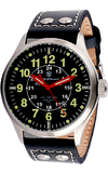 Smith & Wesson Mumbai Lamplighter Swiss Tritium Officer's Field Watch, SWW-GRH-1