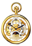 Charles-Hubert Paris Grand Complication Dual Time Skeleton Pocket Watch
