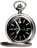 Charles-Hubert Paris Classic Tritium T100 Closed Cover Pocket Watch