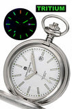 Charles-Hubert Paris T100 Tritium Closed Cover Pocket Watch, XWA5567