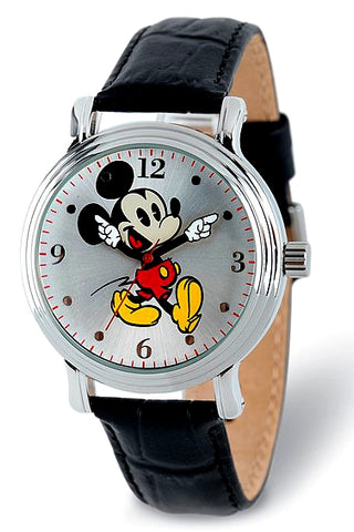 Mickey Mouse Watch, Youth and Teen Size with Moving Arms, XWA5761