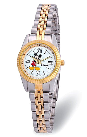 Disney Women's Presidential Style Mickey Mouse Watch, XWA5769