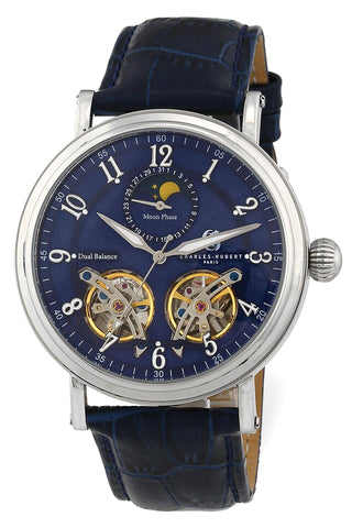 Charles-Hubert Paris Dual Escapement 45 jewel Automatic Complication Watch, XWA6026