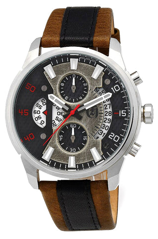 Charles-Hubert Paris Open Dial Design Chronograph with Date, XWA6040