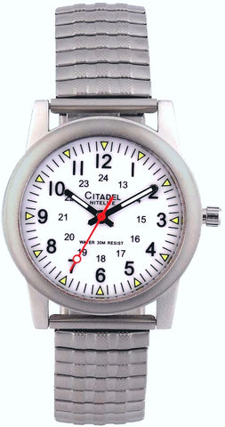 Lighted Dial Railroad Men's Wrist Watch