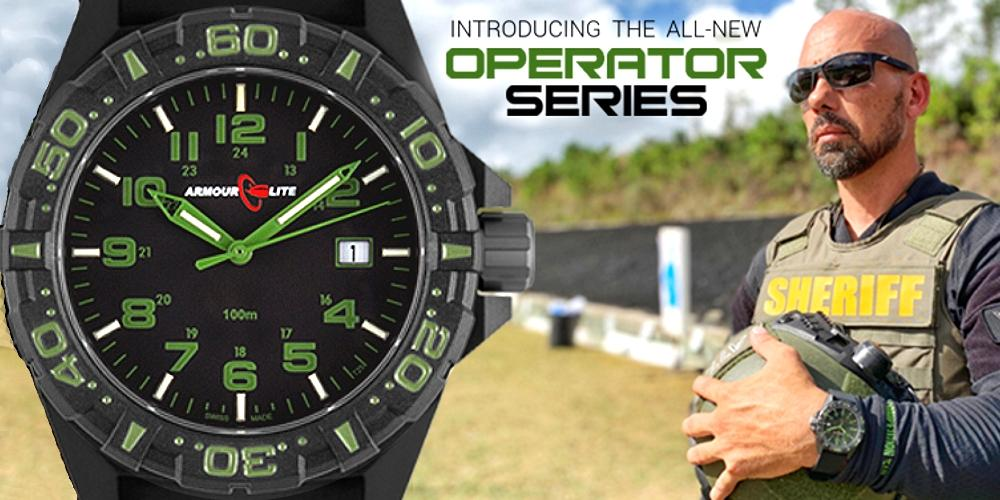 IsoBright Valor T100 Orange Tritium Watch