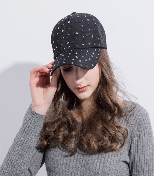 Diamond Rhinestone Cap