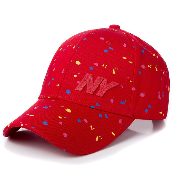 NY Fashion Polka Dot Baseball Cap