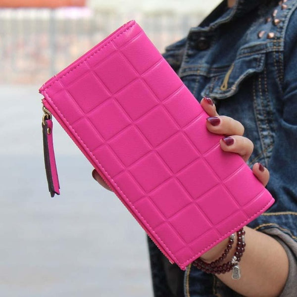 Women's Double zipper Fashion Wallet