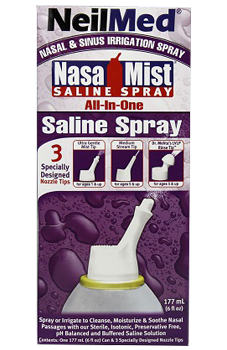 Neilmed NasaMist All-In-One Saline Spray - Biosense Clinic