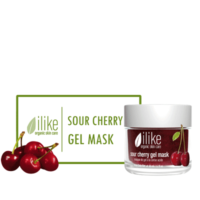 Ilike Gel Mask - Sour Cherry - Biosense Clinic