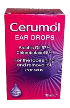 Cerumol Ear Drops - Biosense Clinic