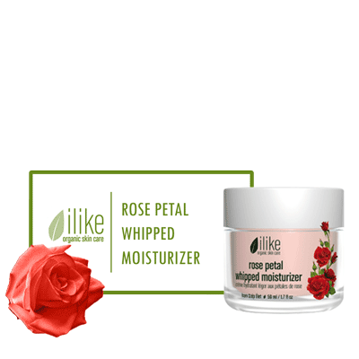 Ilike Moisturizer - Rose Petal Whipped