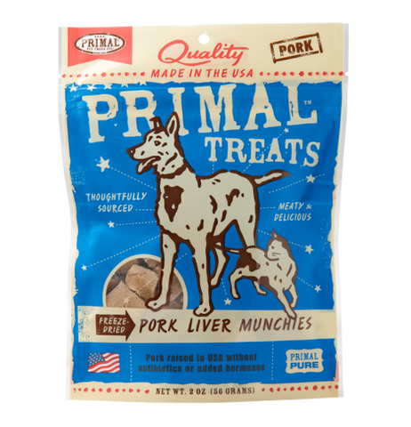 Freeze Dried Pork Liver Munchies