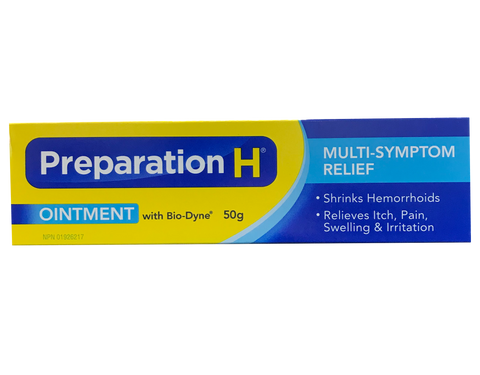 Preparation H Ointment with Biodyne
